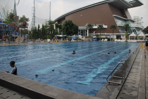 Olympic Pool at Pondok Indah Water Park