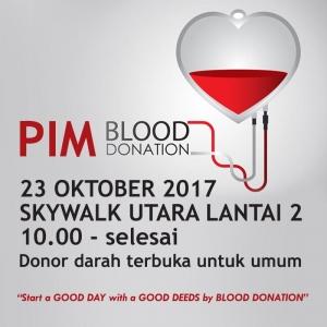 PIM BLOOD DONATION