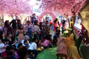 Guzheng live at Atrium PIM 2!