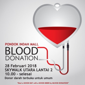 Pondok Indah Mall Blood Donation