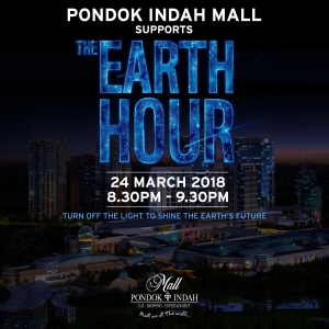 Pondok Indah Mall Supports THE EARTH HOUR