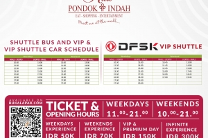 FREE SHUTTLE BUS FOR OUR VISITOR