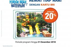 Hemat Tiap Hari dengan Kartu BRI di Pondok Indah Waterpark