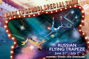 Russian Flying Trapeze is back!