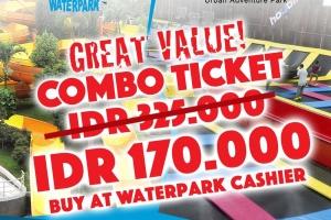Combo Ticket Pondok Indah Waterpark X Houbii!
