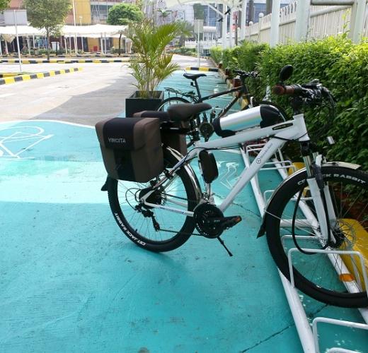 Bicycle Parking  Pondok Indah Mall