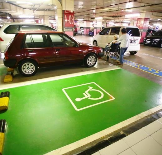 Disabled Parking  Pondok Indah Mall