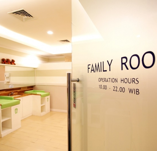 Family room  Pondok Indah Mall