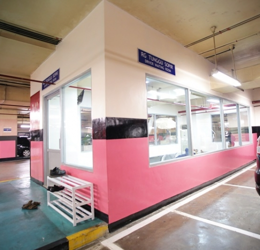Driver Waiting Room  Pondok Indah Mall