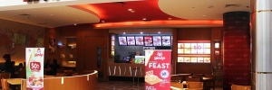 Wendy's Burger at Pondok Indah Mall